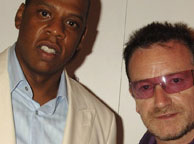 Jay-z With U2 on december tour